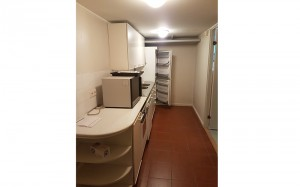 saunatilojen oma keittiö